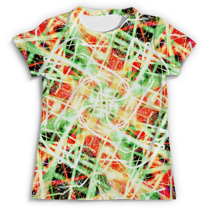 Футболка с полной запечаткой (мужская) Printio Glitch art (пати) футболка с полной запечаткой для девочек printio glitch art чёрная дыра