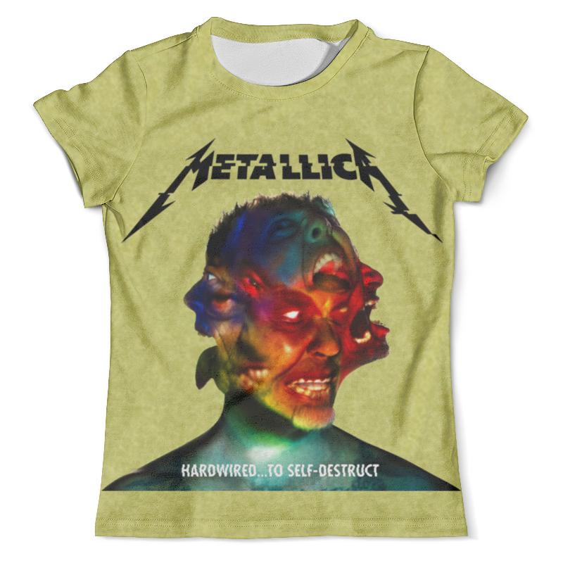 Футболка с полной запечаткой (мужская) Printio Metallica band футболка с полной запечаткой женская printio metallica band