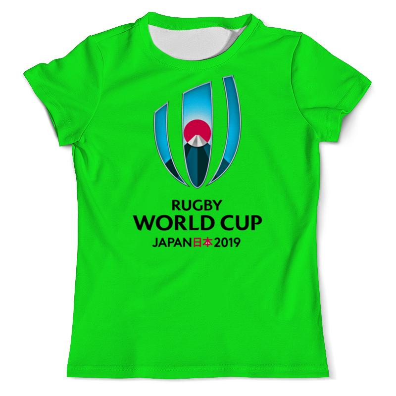 Футболка с полной запечаткой (мужская) Printio Кубок мира по регби в японии чемпионат мира по регби 2019 африка 1 победитель утешительного турнира