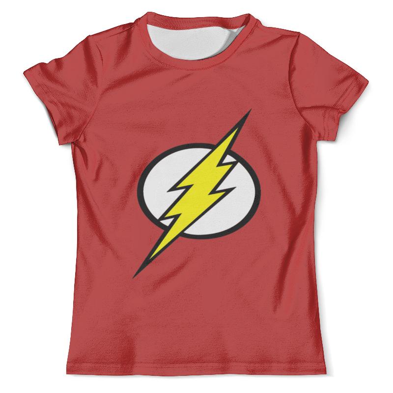 Футболка с полной запечаткой (мужская) Printio The flash (2) футболка с полной запечаткой мужская printio flash v grodd