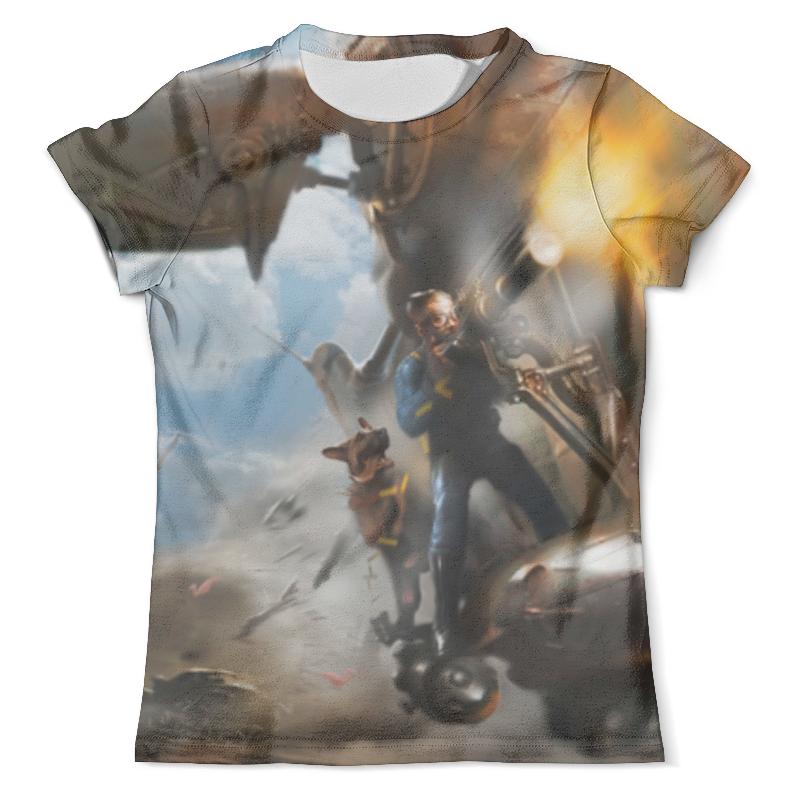 Футболка с полной запечаткой (мужская) Printio Fallout 4 футболка с полной запечаткой мужская printio лас вегас page 4