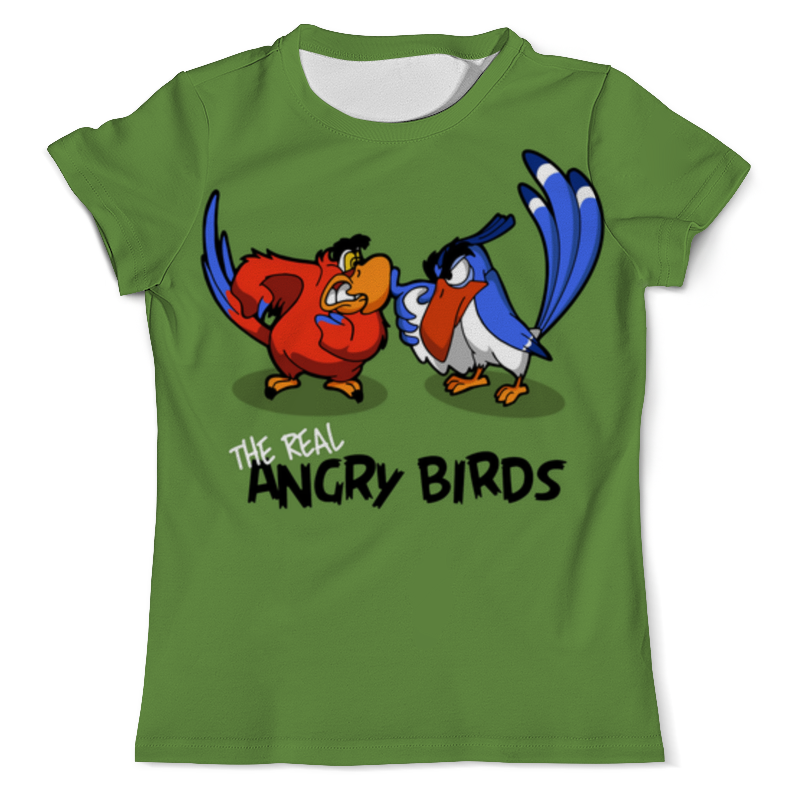Printio The real angry birds (1) двухколесные самокаты 1 toy topgear angry birds