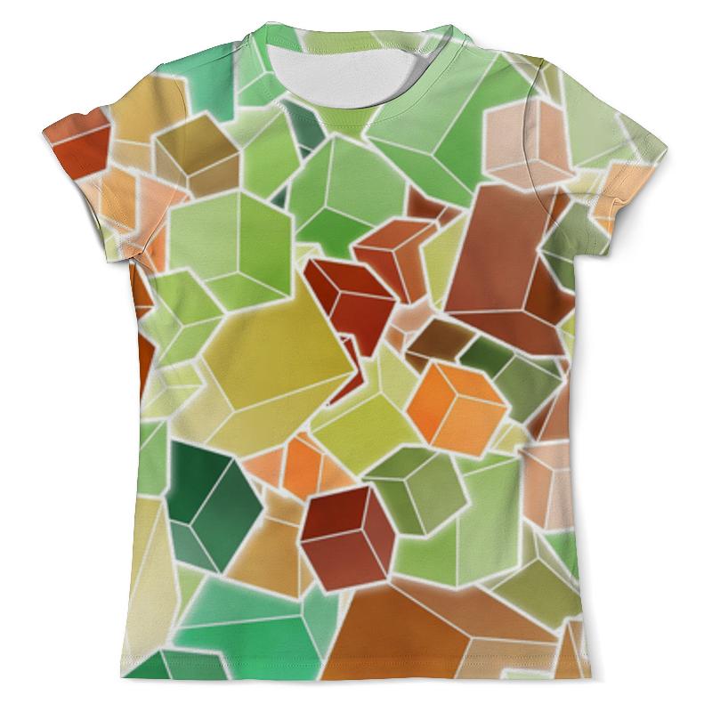 Футболка с полной запечаткой (мужская) Printio Абстракция 3 d футболка с полной запечаткой мужская printio синяя абстракция