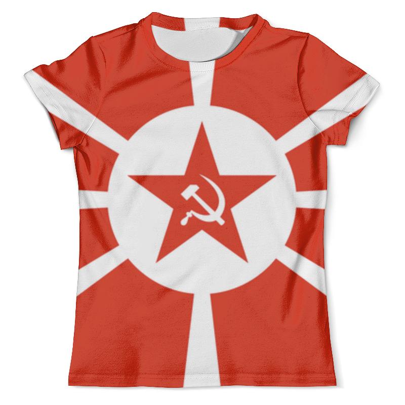 Футболка с полной запечаткой (мужская) Printio Красная звезда футболка с полной запечаткой мужская printio красная шапочка и серый волк