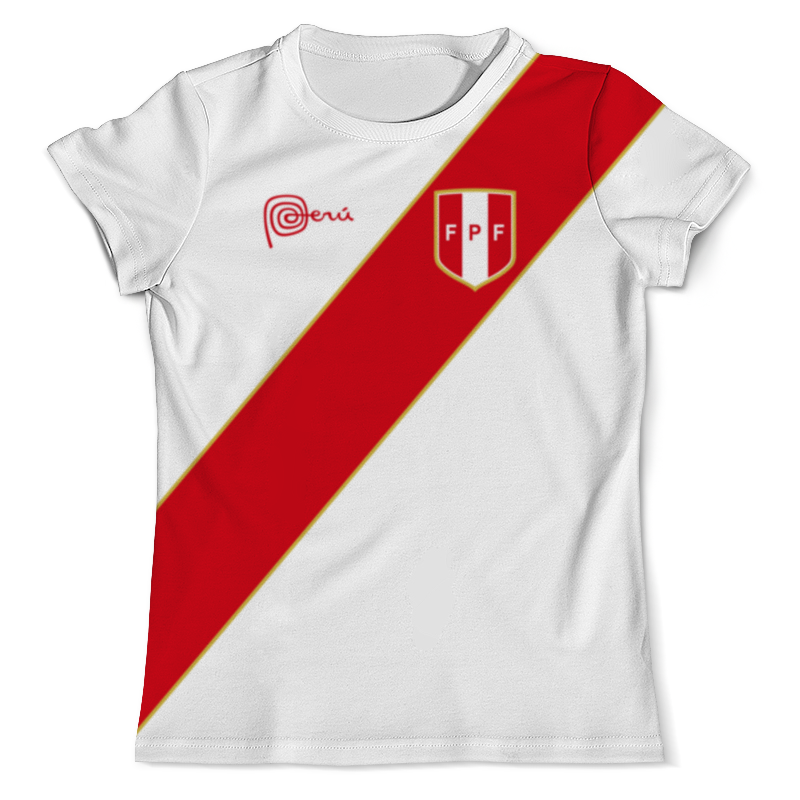 Футболка с полной запечаткой (мужская) Printio Сборная перу футболка с полной запечаткой женская printio перу инков