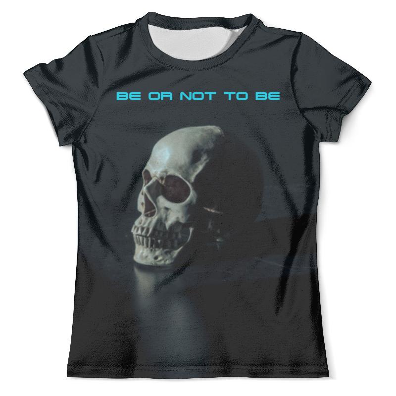 Футболка с полной запечаткой (мужская) Printio Skull - 14 футболка с полной запечаткой мужская printio skull triangle