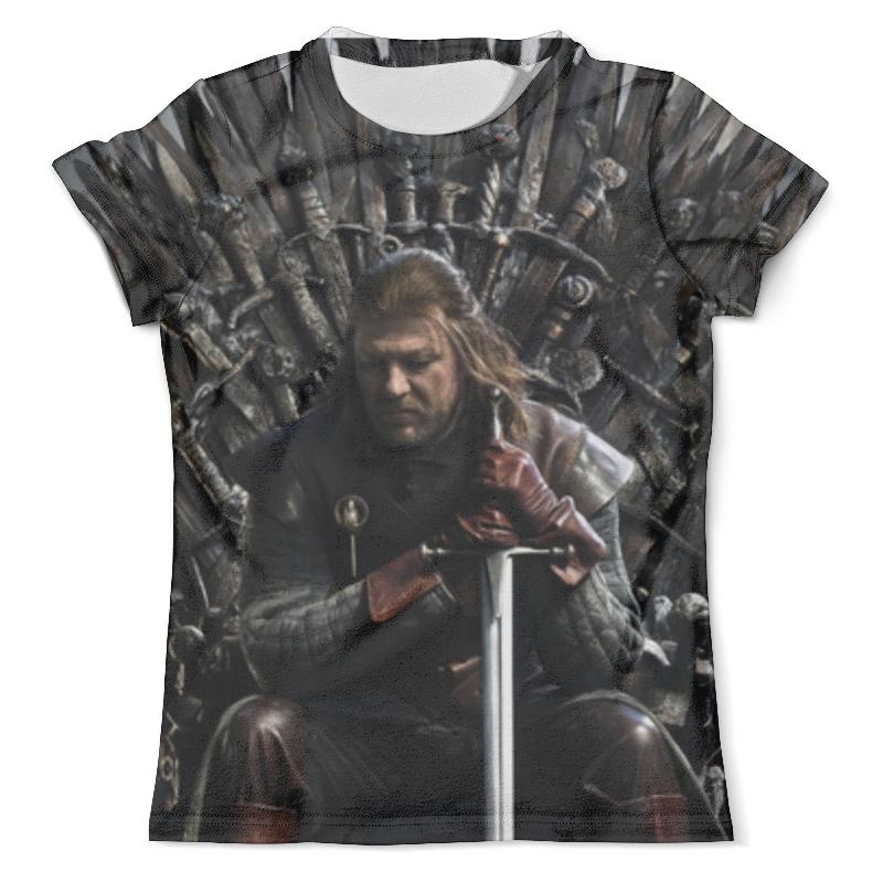 Футболка с полной запечаткой (мужская) Printio Game of thrones ned stark hamlet ned r