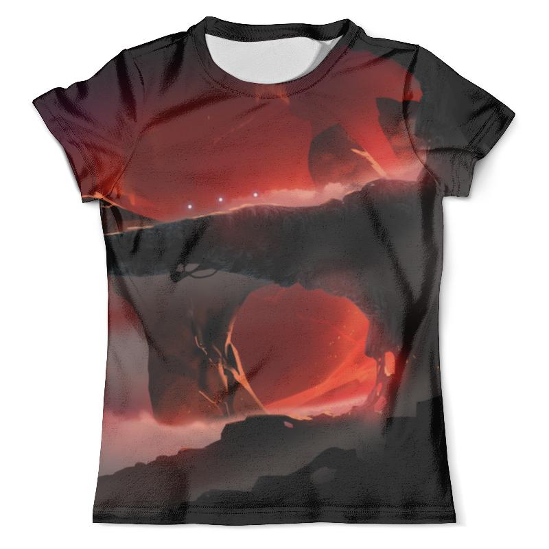 Футболка с полной запечаткой (мужская) Printio Вулкан футболка с полной запечаткой мужская printio cs go vulcan style вулкан