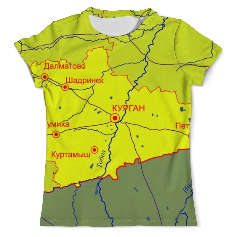 Printio Курганская область. курган футболка с полной запечаткой мужская printio кировская область киров
