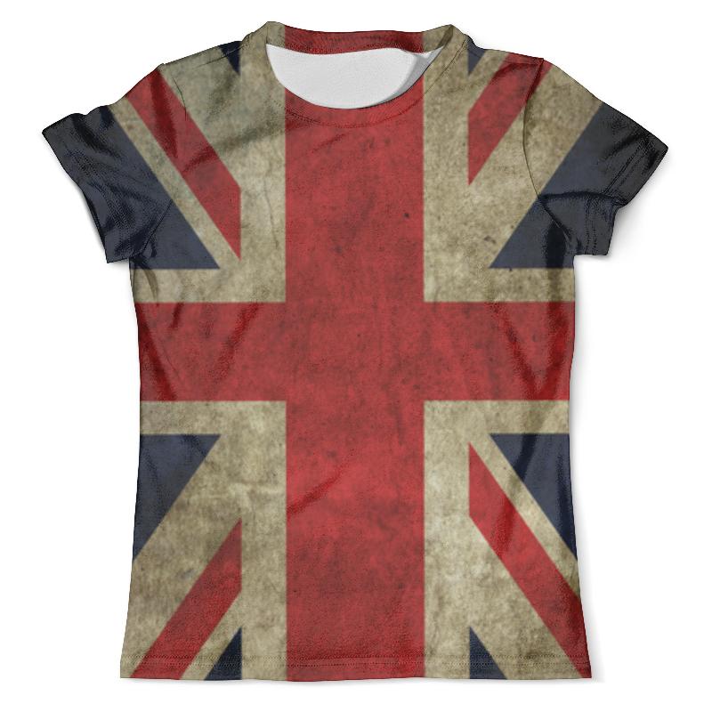 Футболка с полной запечаткой (мужская) Printio Флаг британии миланна винтхальтер избритании с