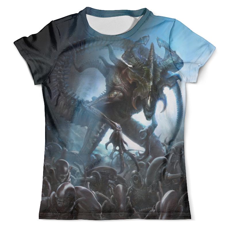 Футболка с полной запечаткой (мужская) Printio Alien king футболка с полной запечаткой женская printio gipsy king