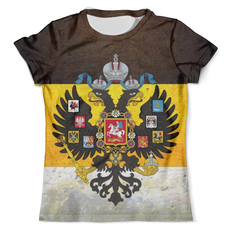 Футболка с полной запечаткой (мужская) Printio Флаг российской империи футболка с полной запечаткой мужская printio american flag американский флаг