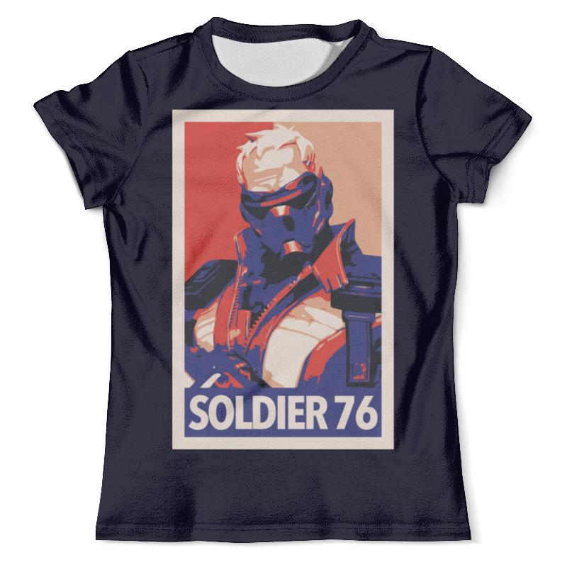 Футболка с полной запечаткой (мужская) Printio Солдат - 76 футболка с полной запечаткой мужская printio солдат battlefield