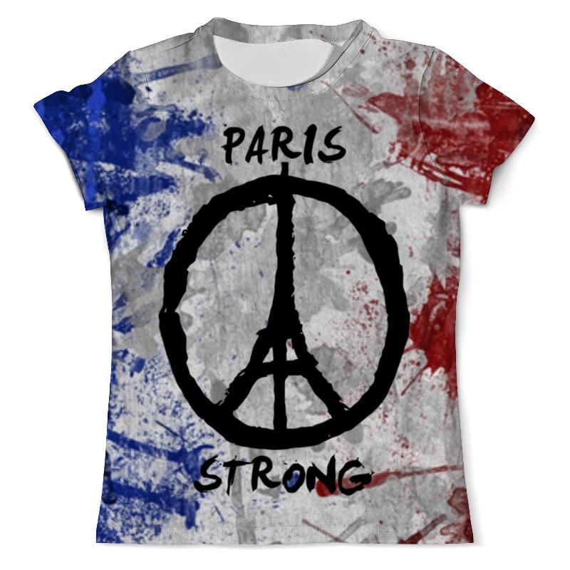 Футболка с полной запечаткой (мужская) Printio Мир парижу (peace for paris) сумка printio мир peace