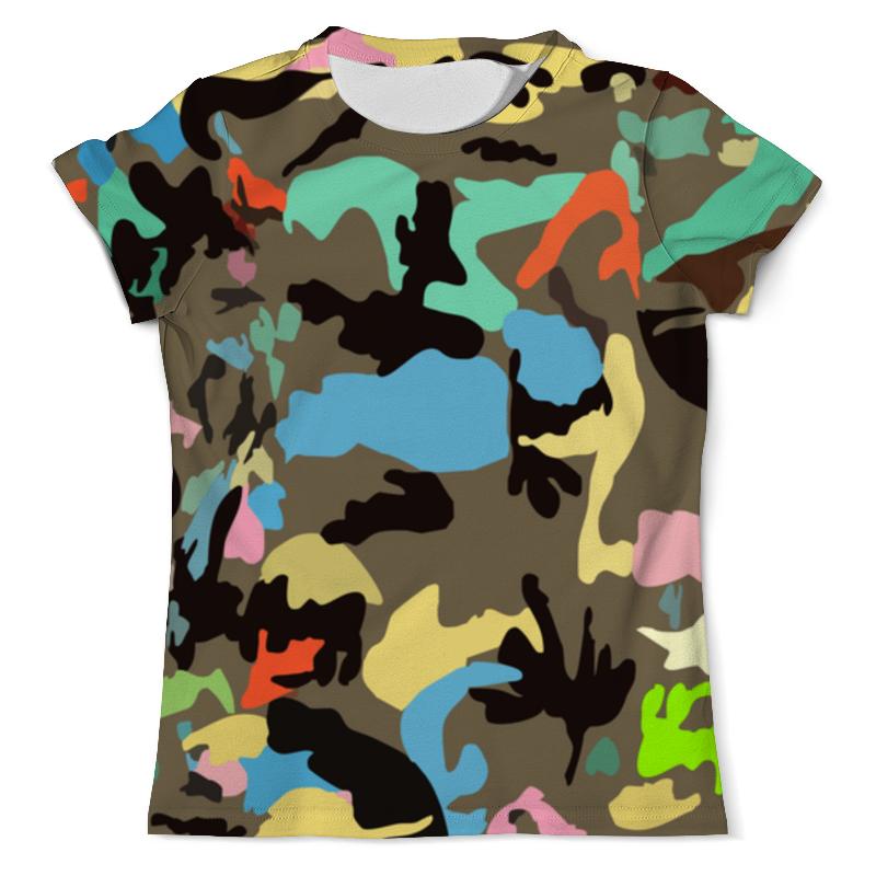 Футболка с полной запечаткой (мужская) Printio Модный камуфляж футболка камуфляж