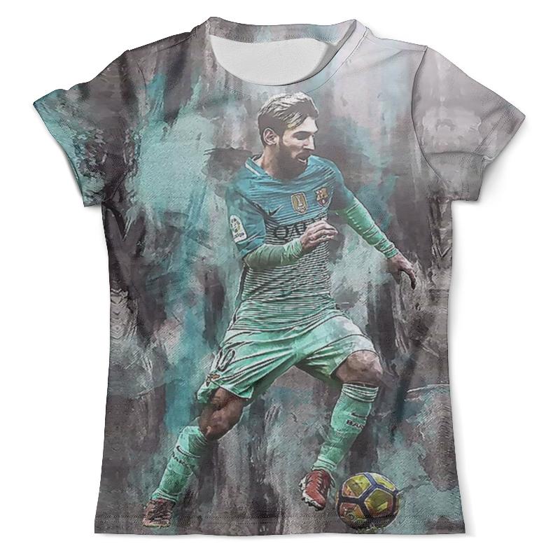 Футболка с полной запечаткой (мужская) Printio Lionel messi (2) футболка с полной запечаткой мужская printio messi