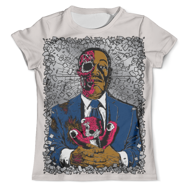 Футболка с полной запечаткой (мужская) Printio Zombie art футболка с полной запечаткой мужская printio zombie ice
