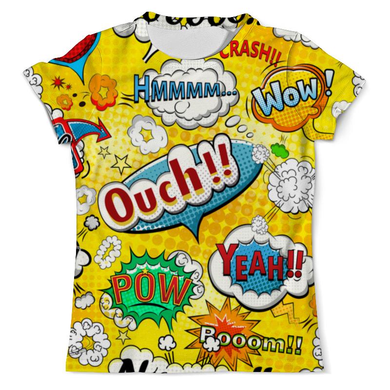Фото - Футболка с полной запечаткой (мужская) Printio Pop-art футболка с полной запечаткой женская printio pop art