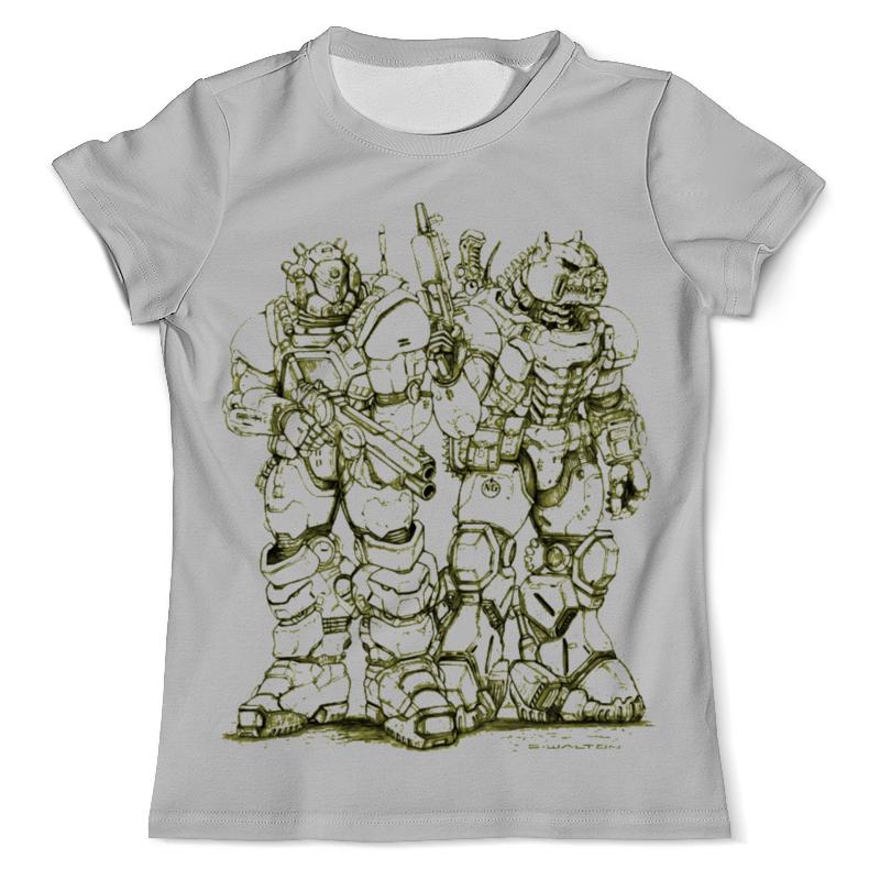 Printio Космическая пехота футболка с полной запечаткой мужская printio космическая пыль