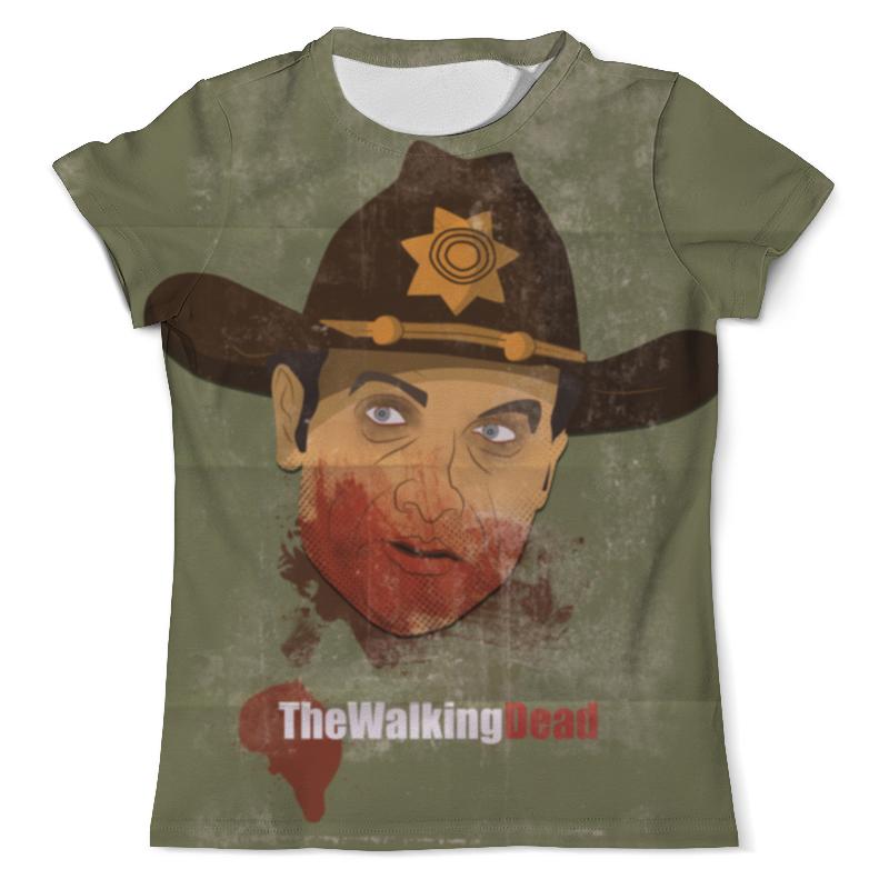 Футболка с полной запечаткой (мужская) Printio Ходячие мертвецы футболка с полной запечаткой мужская printio солдаты апокалипсиса
