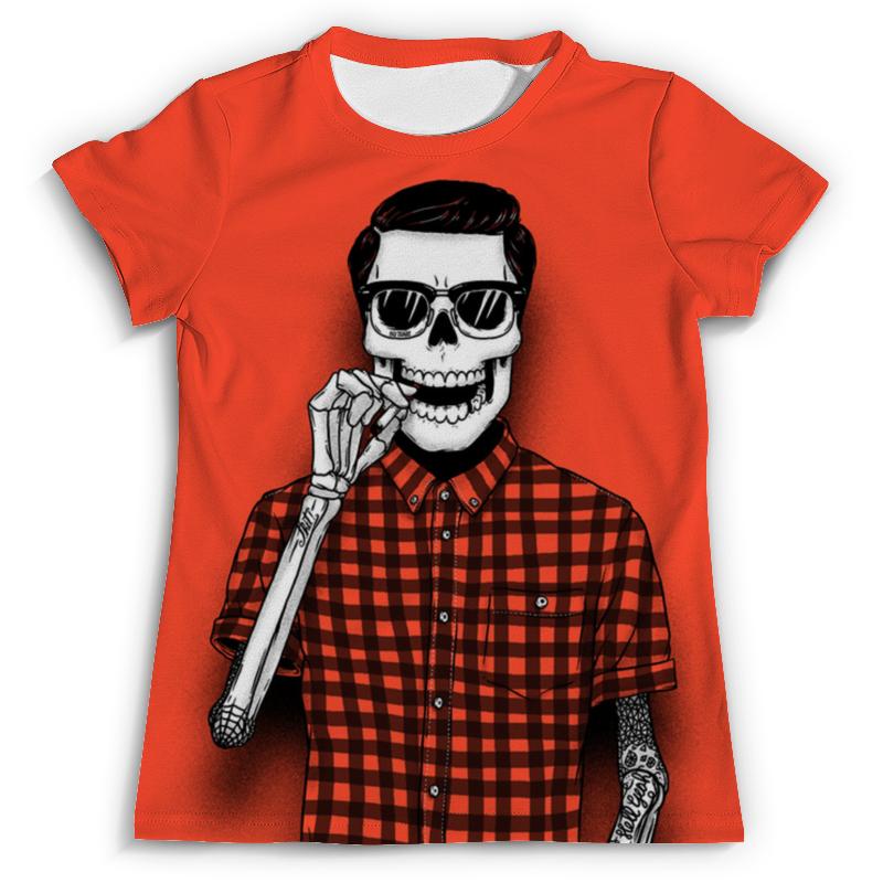 Футболка с полной запечаткой (мужская) Printio Bones brigade футболка с полной запечаткой для мальчиков printio bones brigade