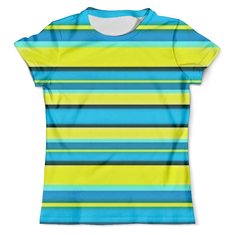 Футболка с полной запечаткой (мужская) Printio Яркие линии футболка с полной запечаткой женская printio линии