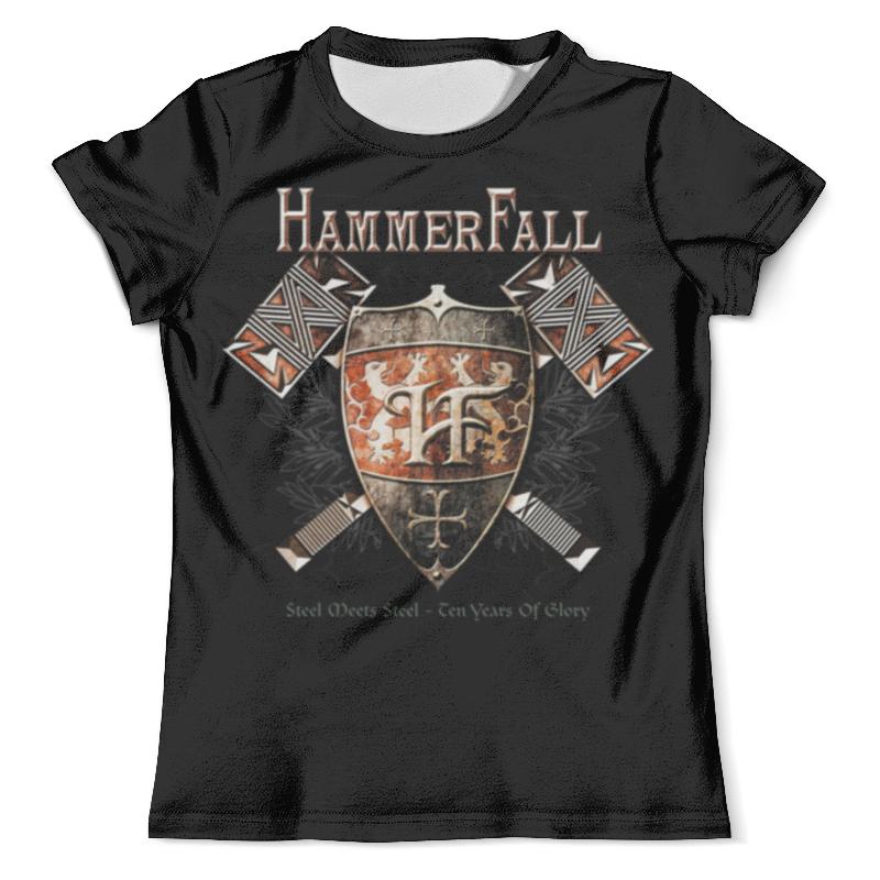 Футболка с полной запечаткой (мужская) Printio Hammerfall hammerfall hammerfall r evolution
