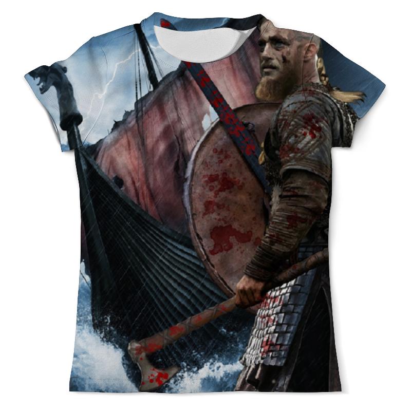 Printio Викинги футболка с полной запечаткой мужская printio vikings