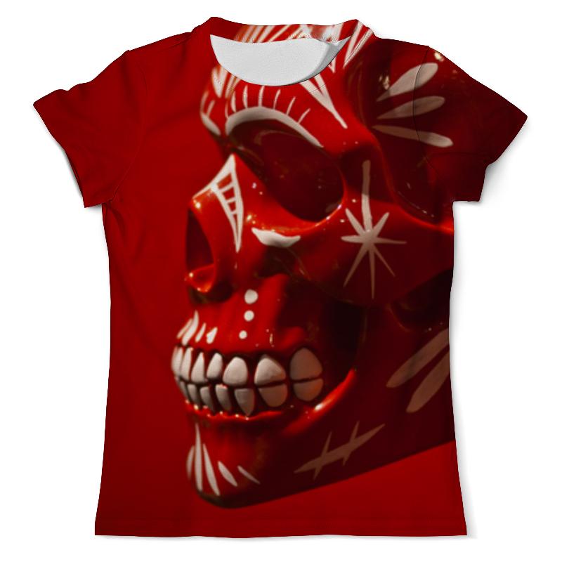 Футболка с полной запечаткой (мужская) Printio Skull - 6 мужская футболка other 6 4 q01