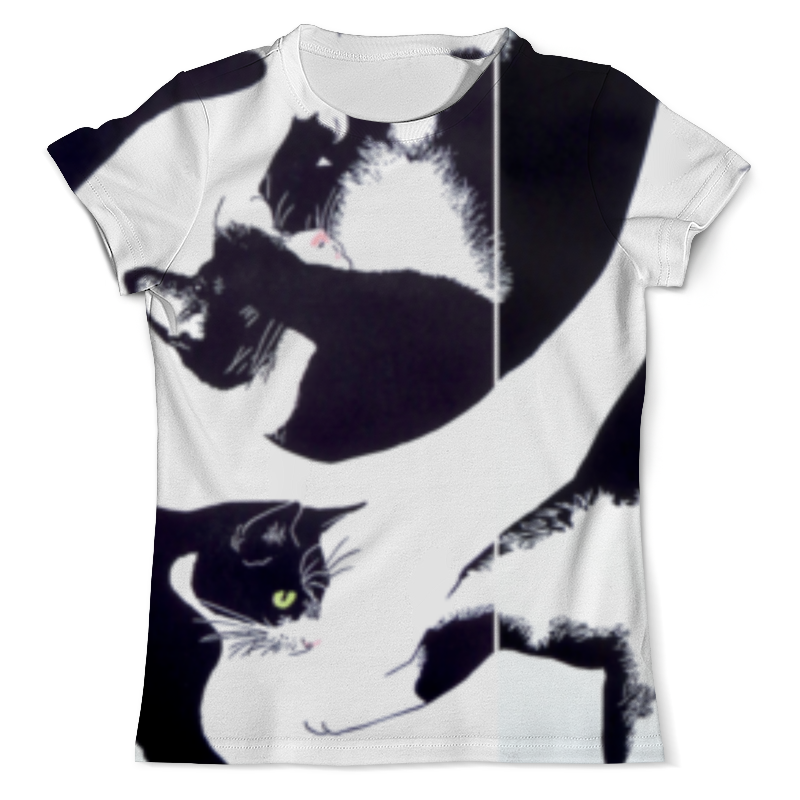 Фото - Printio Кот кот футболка с полной запечаткой мужская printio хью джекман люди икс