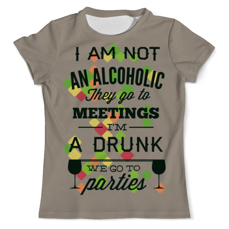 Printio We go to parties футболка с полной запечаткой мужская printio we go to parties