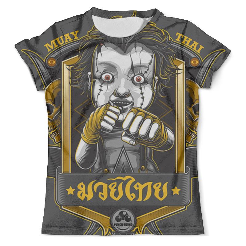 Футболка с полной запечаткой (мужская) Printio Muay thai футболка с полной запечаткой мужская printio важнейшее из искусств винтаж
