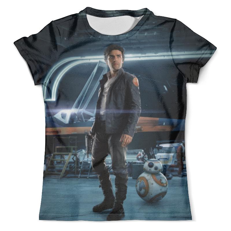 Футболка с полной запечаткой (мужская) Printio Звездные войны - по дамерон футболка с полной запечаткой мужская printio и по