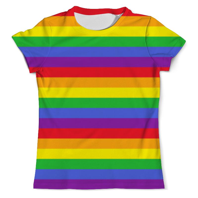 лучшая цена Футболка с полной запечаткой (мужская) Printio Rainbow