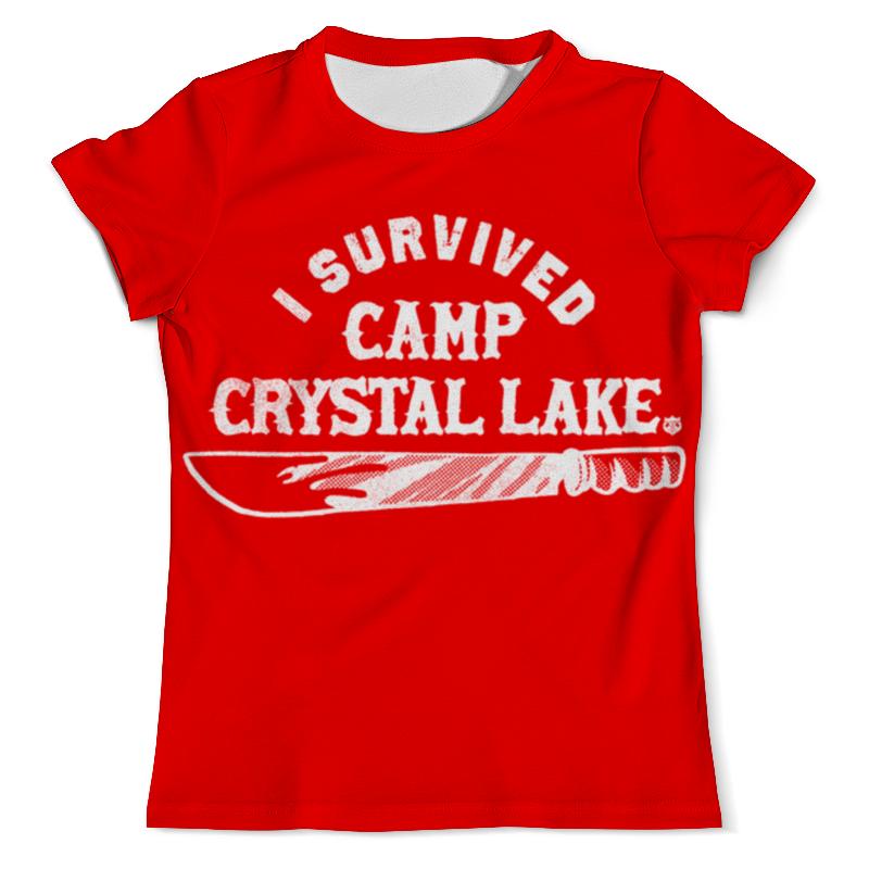 цена Printio Camp crystal lake онлайн в 2017 году