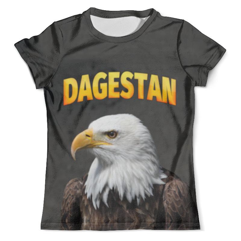 Футболка с полной запечаткой (мужская) Printio Дагестан футболка с полной запечаткой мужская printio орел арт 1