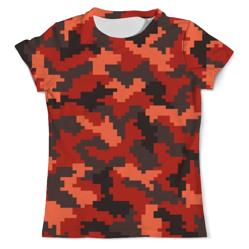 Футболка с полной запечаткой (мужская) Printio Пиксельный футболка с полной запечаткой мужская printio пиксельный разрыв я в порядке