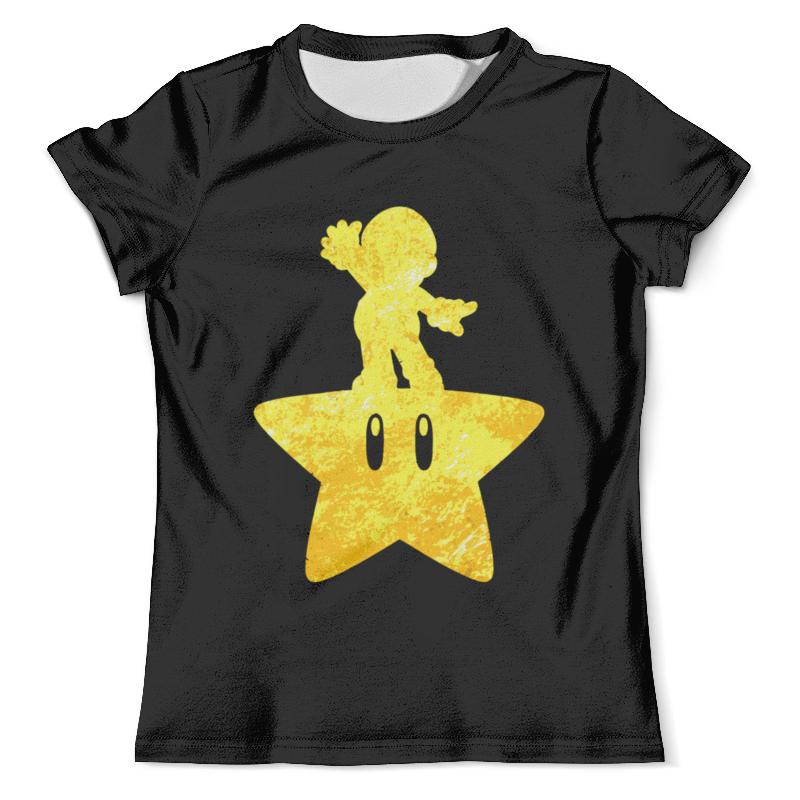 Футболка с полной запечаткой (мужская) Printio Марио ( mario ) футболка с полной запечаткой для девочек printio марио и луиджи марио mario