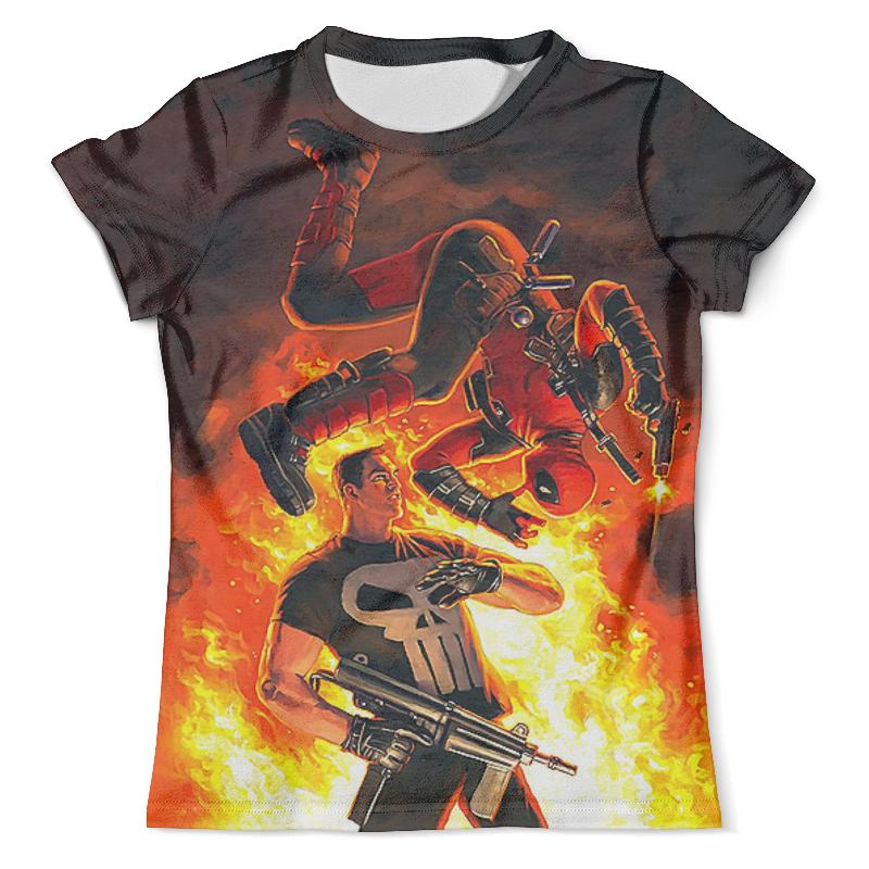 Футболка с полной запечаткой (мужская) Printio Deadpool vs the punisher_ футболка с полной запечаткой мужская printio the mask vs beetlejuice 1