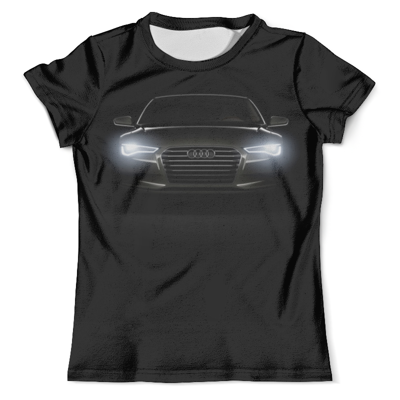 Футболка с полной запечаткой (мужская) Printio Audi (ауди)