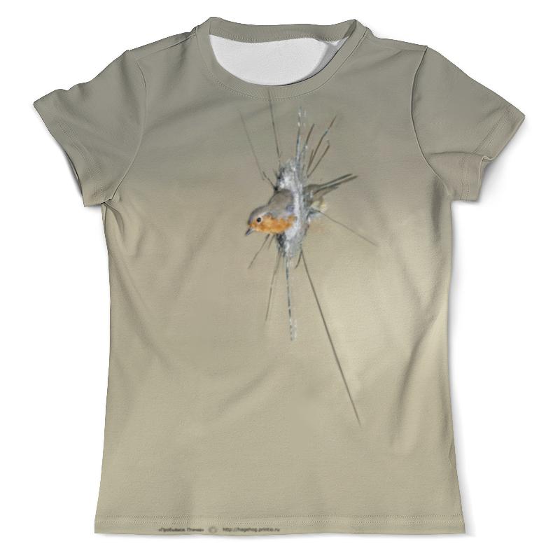 Printio Пробьёмся. птичка футболка с полной запечаткой мужская printio ночная птичка