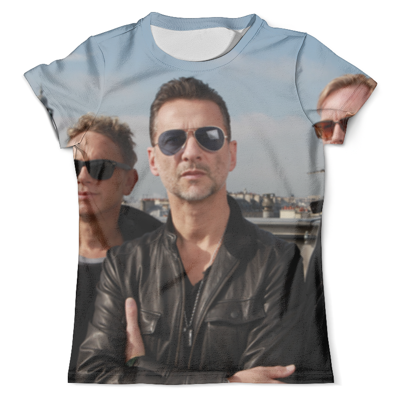 Футболка с полной запечаткой (мужская) Printio Depeche mode футболка рингер printio depeche mode