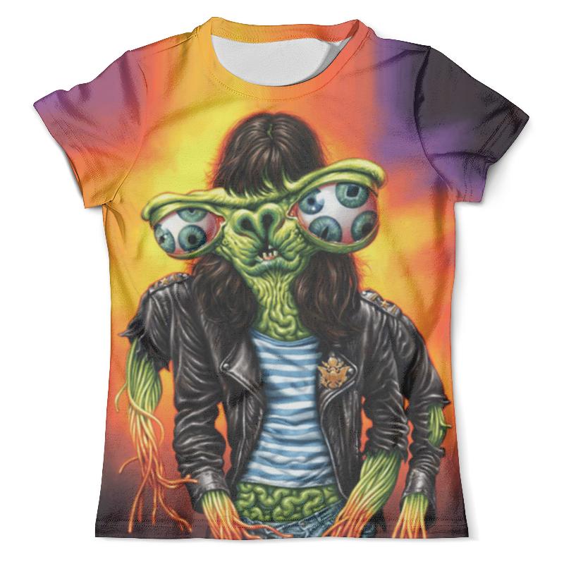Футболка с полной запечаткой (мужская) Printio Хипстер футболка с полной запечаткой для девочек printio хипстер пес