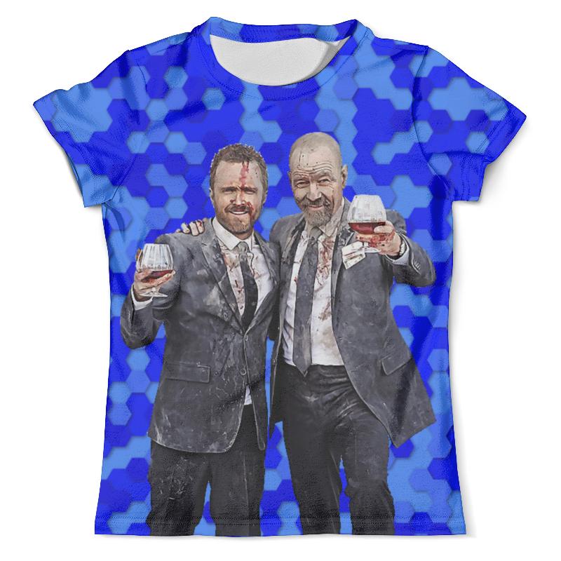 Футболка с полной запечаткой (мужская) Printio Breaking bad - heisenberg футболка с полной запечаткой мужская printio bad santa