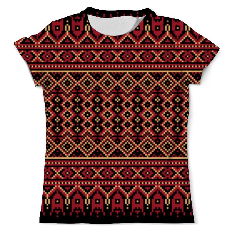 Printio Пиксельный орнамент футболка с полной запечаткой мужская printio пиксельный разрыв я в порядке