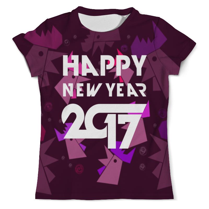 Футболка с полной запечаткой (мужская) Printio Happy new year лонгслив printio happy new year
