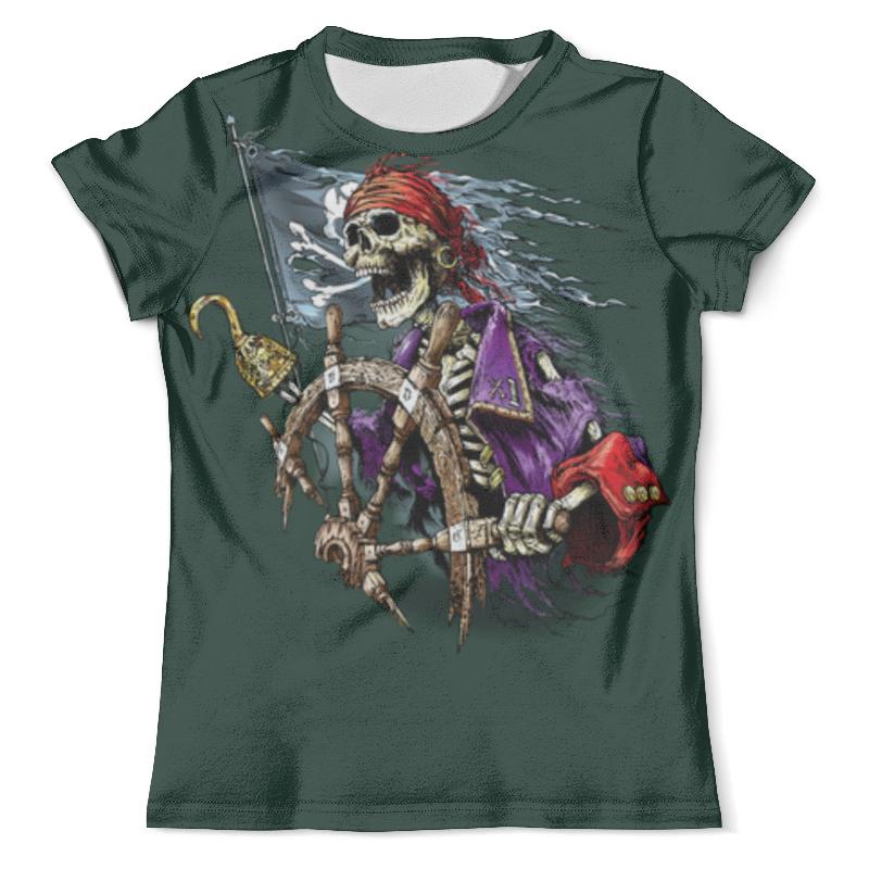 Футболка с полной запечаткой (мужская) Printio Pirates футболка с полной запечаткой мужская printio black sails pirates