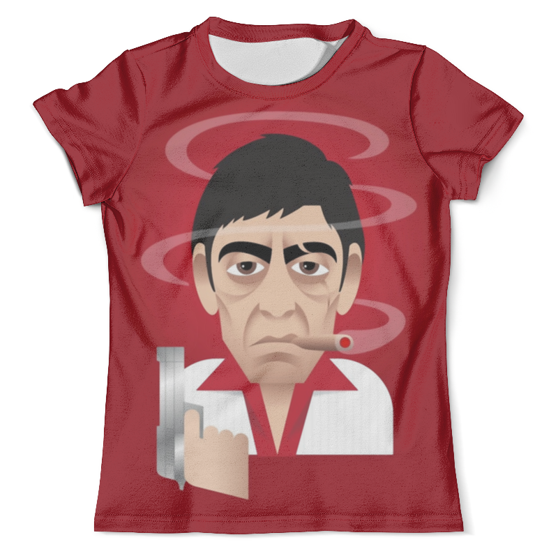 Футболка с полной запечаткой (мужская) Printio Tony montana - scarface футболка с полной запечаткой мужская printio tony montana scarface 1