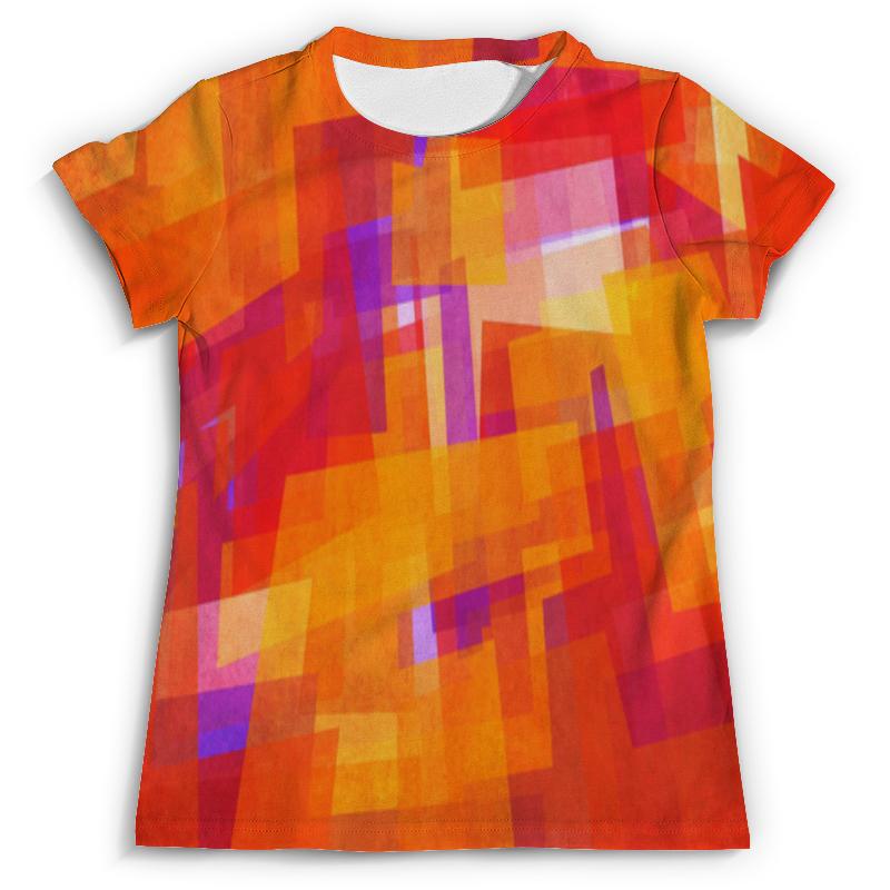 Футболка с полной запечаткой (мужская) Printio Абстракция футболка с полной запечаткой мужская printio оранжевая абстракция page 2