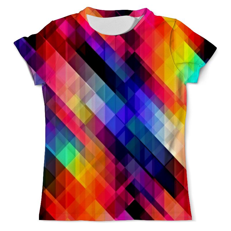 Футболка с полной запечаткой (мужская) Printio Цветные узоры футболка с полной запечаткой мужская printio цветные текстуры